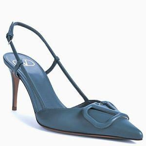 Valentino V logo heels